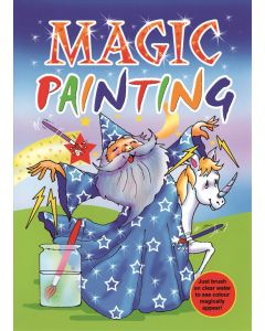 MAGIC PAINTING BOOK LARGE (Pack Size: 12)
