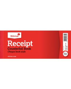 CASH RECIEPT FORMS WITH COUNTER FOIL 80 x 202mm (40) (Pack Size: 36s)